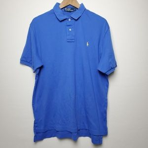 RALPH LAUREN BLUE POLO SIZE LARGE